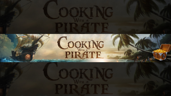 Cooking with a pirate
